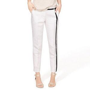 J. Crew | Cafe Capri Linen Pant, Size 4